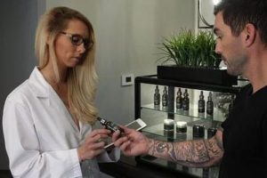 demonstrates how health professionals recommend CBD oil in Canada