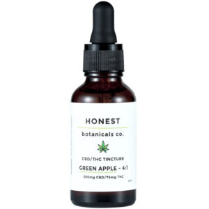 CBD/THC tincture Green Apple by Honest Botanicals product image