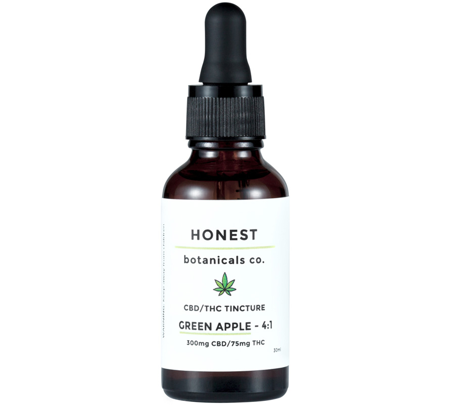 Honest Botanical-THC CBD Tincture