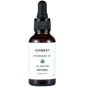 THC Oil honest botanicals product image