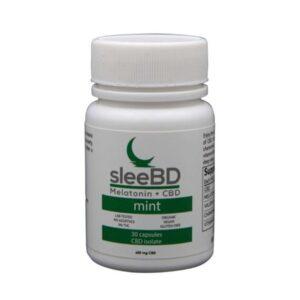 CBD Sleep Capsules Mint by SleeBD