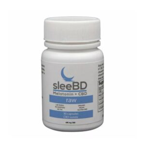 CBD Sleep Capsules Raw by SleeBD