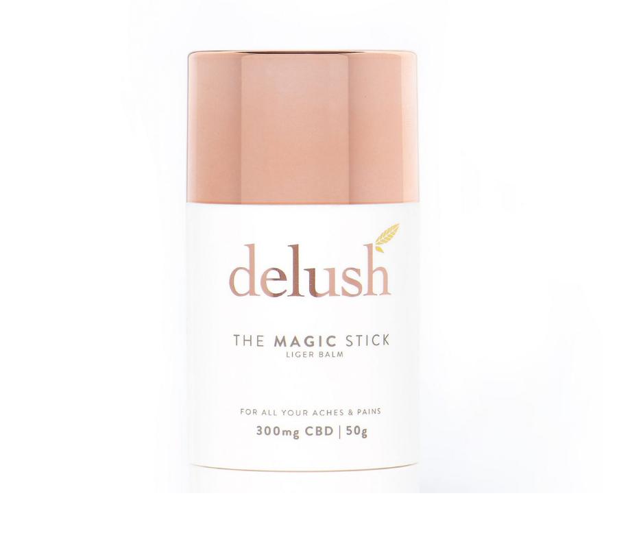 visualize cbd cream canada packaging front Delush