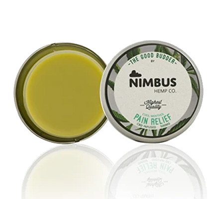 The good budder pain relief cbd cream by Nimbus Hemp Co. product image