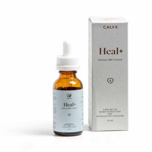 Heal+ CBD Oil by Calyx Wellness packaging image