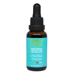 Tincture for Pets small breed - Hemp4Paws product image