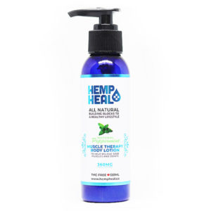 Muscle Therapy Lotion CBD Cream by HempHeal