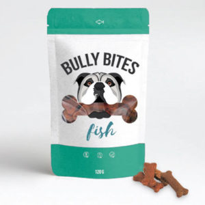 Bully Bits wild salmon cbd treats for dogs by Miss Envy product image
