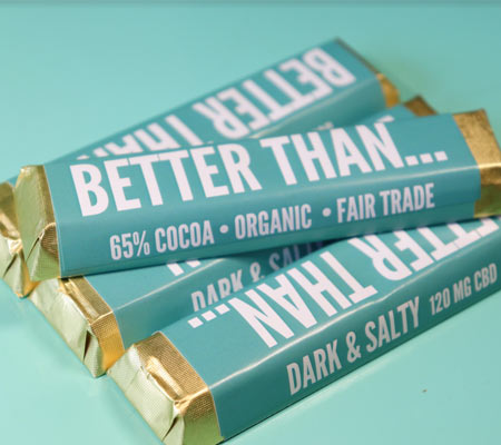 CBD chocolates bar