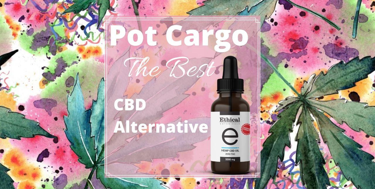 Education: visualize CBD products of Pot Cargo alternative