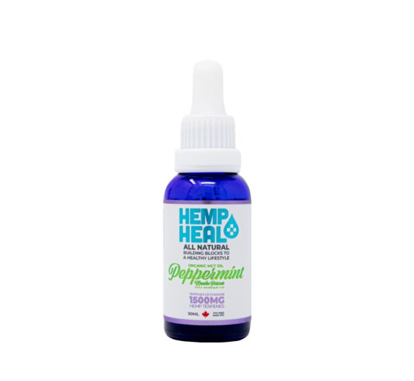 visualize peppermint cbd oil