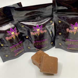 visualize full spectrum rosin brownies by royalty rosin