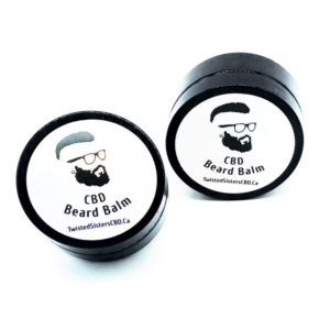 visualize 2 jars cbd beard balm sisters cbd