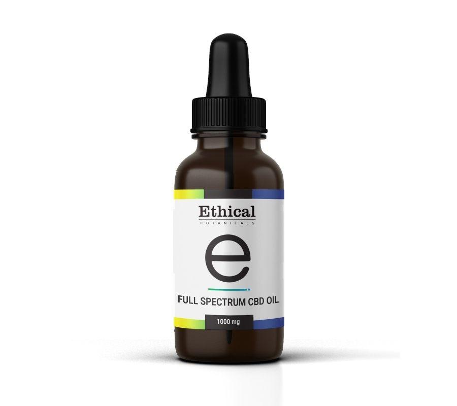 Full Spectrum CBD Oil | Ethical Botanicals - 1000mg