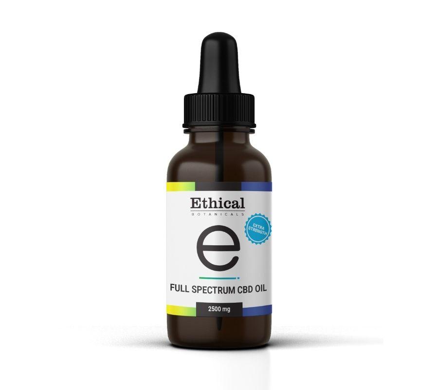 Full Spectrum CBD Oil | Ethical Botanicals - 2500mg