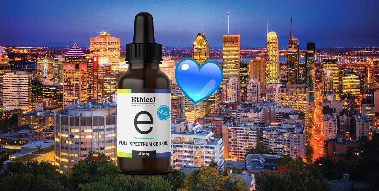 visualize favorite cbd oil in Montreal