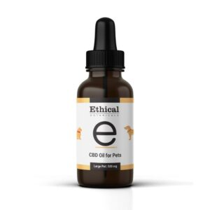 cbd oil for pets - ethical botanicals product image