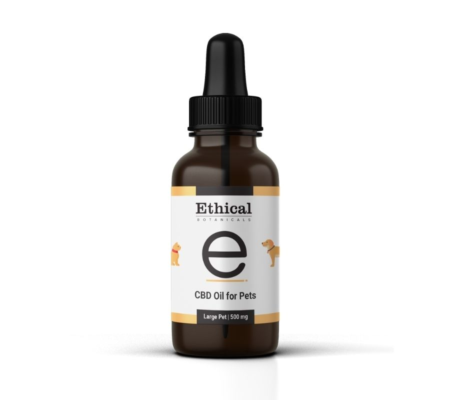visualize bottle cbd oil for pets by ethical botanicals