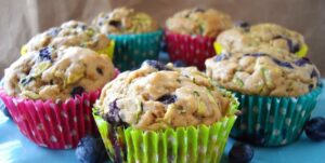visualizes CBD muffin delight to entice people to try the recipe